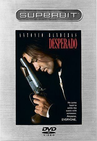 Desperado  (Superbit Collection) Good DVD Salma Hayek Cheech Marin Quentin T