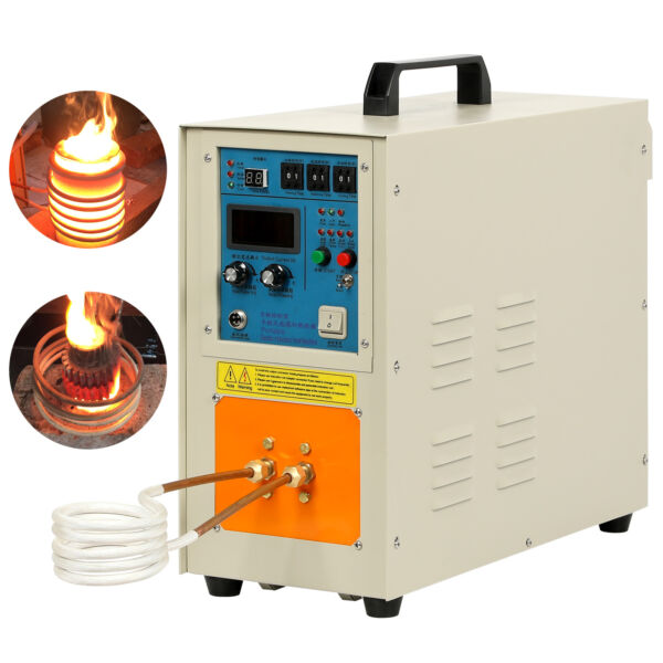 15KW 30-100 KHz 110V High Frequency Induction Heater Furnace