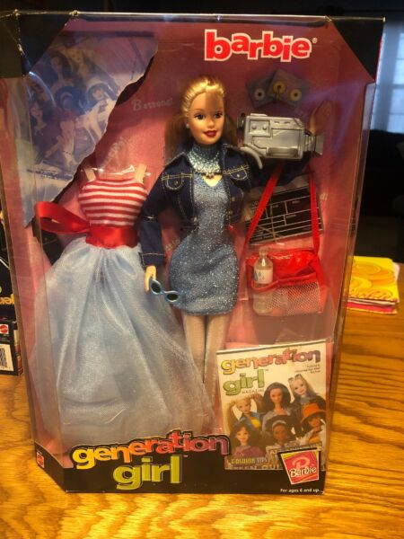 GENERATION GIRL BARBIE NRFB MANY COOL ACCESSORIES VERY NICE $20.00