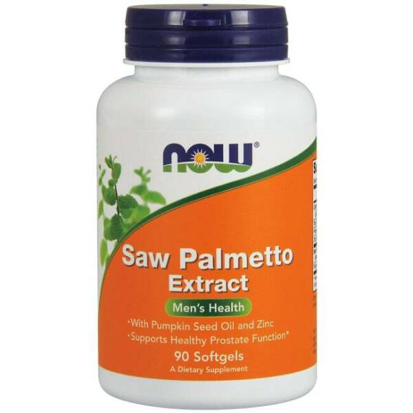NOW Foods Saw Palmetto Extract 90 Sgels