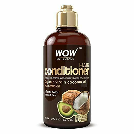 WOW Hair Conditioner Coconut Avocado - For Dry Hair - Sulfate Free - 16.9 Fl Oz