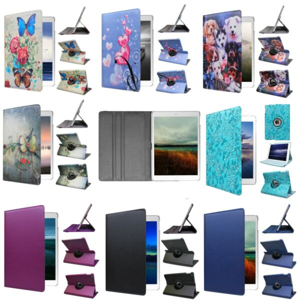 ipad pro case For 12.9 11 10.5 9.7 inch 360° Rotating Smart Cover Case