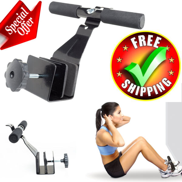 Sit Up Bar Doorway Barbell Home Equipment Exercise Gym Fitness Muscle Workout