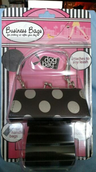 NWT Dog Bag Dog Business Bags Little Black Purse with Black Bags $10.00