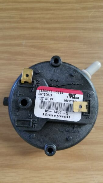 ISO371 5814 Honeywell OEM Furnace Replacement Air Pressure Switch $23.00