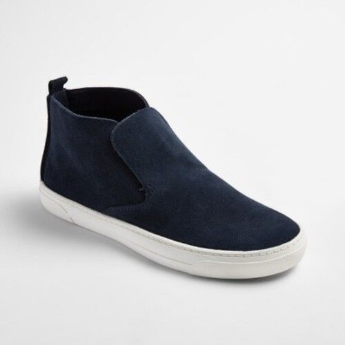 NEW! dv by Dolce Vita Roselyn Suede High-Top Navy Sneakers  - Various Sizes!!
