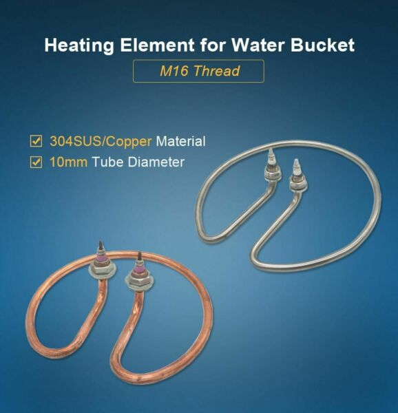 Standard Type Water Heating Element Electric Tube Heater For Open Bucket