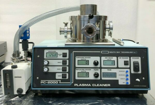 South Bay Technologies PC-2000 Plasma Cleaner with Alcatel 2002I Pump