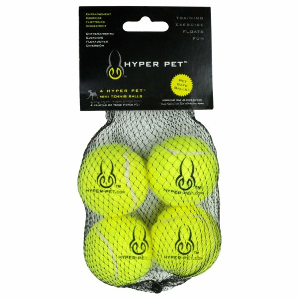 Hyper Pet Mini Tennis Balls for Dogs Pet Safe Dog Toys for Exercise and Trai... $8.89