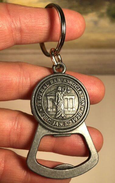 Federal Bar Association Collectible Keychain Bottle Opener FBA Immigration Law
