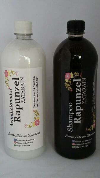 SHAMPOO & CONDITIONER RAPUNZEL ZATARAIN Fast Growth Hair REGROWN 1 Liter Each
