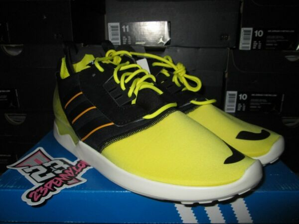 SALE ADIDAS ZX 8000 BOOST SONIC YELLOW BLACK WHITE SZ 10 NEW ULTRA B26369