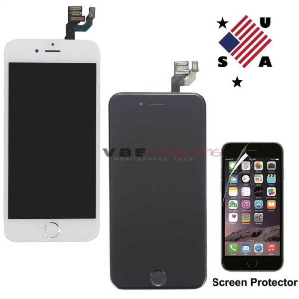 For iPhone 6 6s Screen Full LCD Digitizer Touch Replacement Home Button Camera