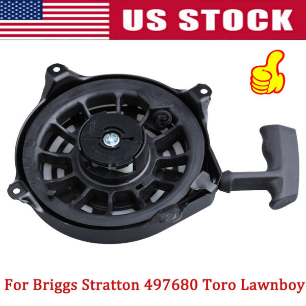 Recoil Starter For Briggs Stratton 497680 Toro Lawnboy MTD Snapper Lawnmower