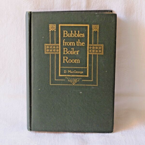 Bubbles from the Boiler Room MacGeorge Poetry Book Verse GBP 7.99