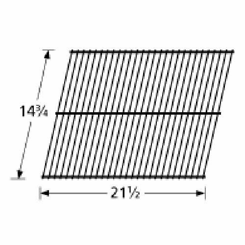 92401 Steel Wire Rock Grate Replacement For Select Gas Grill Models By Great And
