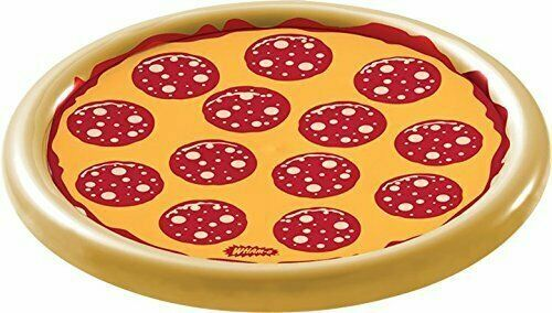 Wham-O Splash Pizza Inflatable Pool Float Raft Swimming Water Toy Summer Toy NEW $13.99