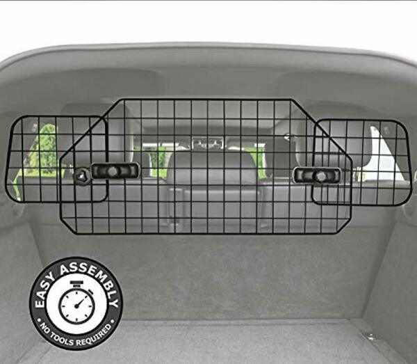 Pawple Dog Barrier for SUV#x27;s Cars amp; Vehicles Heavy Duty Adjustable Pet Barrier $29.95