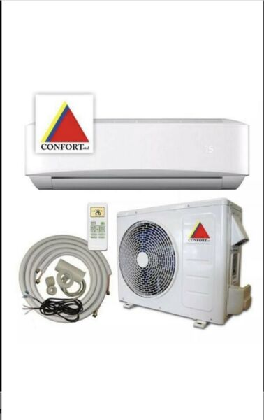12000 BTU System Ductless Air ConditionerHeat Pump Mini split 110V 1 Ton w kit $351.00