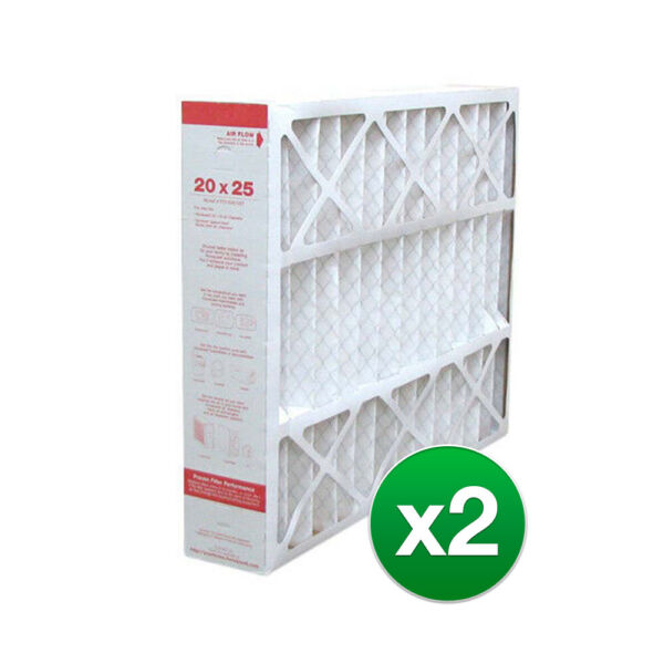 Replacement Air Filter For York YMU2025 20x25x5 Furnace MERV 11 2 Pack $61.95