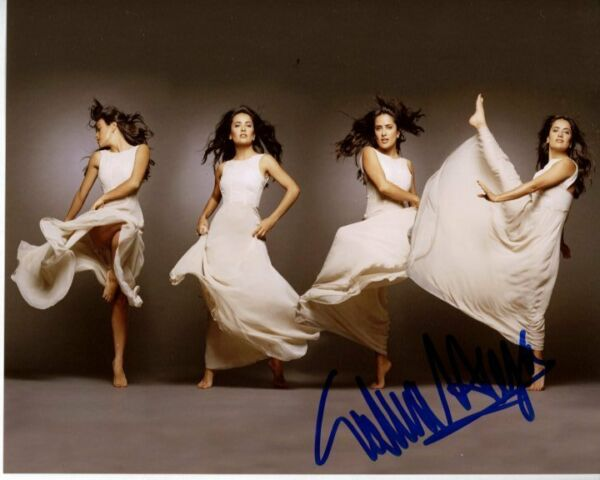 SALMA HAYEK Signed Autographed Photo