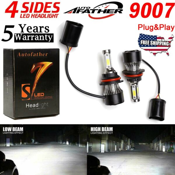 9007 HB5 LED Headlight Bulb for Dodge RAM 2500 3500 03-2005 Caravan Super Bright