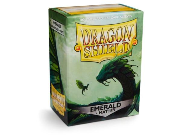 Matte Emerald 100 ct Dragon Shield Sleeves Standard Size SHIPS FREE 10% OFF 2 $8.99