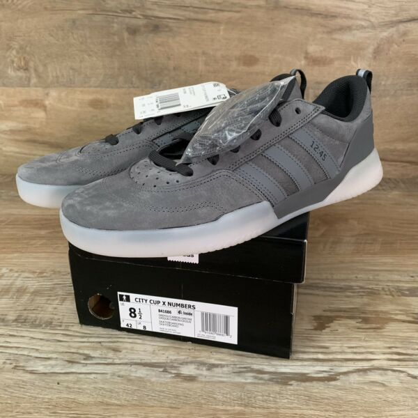 RARE Adidas City Cup X Numbers Carbon Limited Edition Shoes Mens Size 8.5 NEW