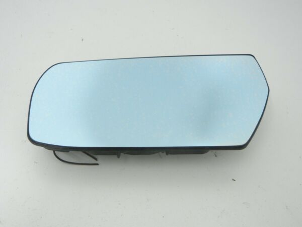 Cadillac CTS 03 - 07 left driver side door heated mirror glass blue tinted OEM
