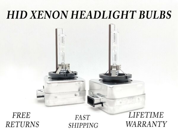 8000K Ice Blue HID Xenon Headlight Bulb for Dodge Charger 2011-2014 Low Beam