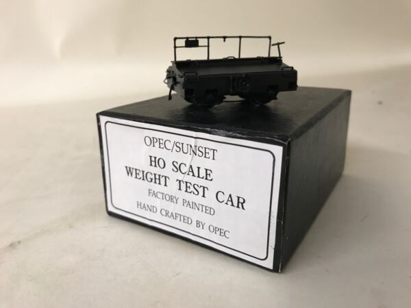 Sunset Models Brass HO Scale Weight Test Car