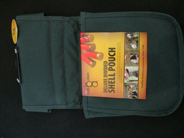 Bob Allen Deluxe Divided Shell Pouch with Belt Green New 22118 $17.99