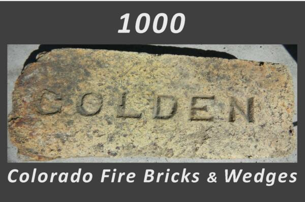 Colorado Fire Bricks Wedges   Floor Counter Column   Post-Industrial Scale