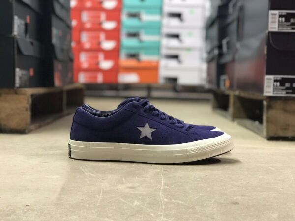 Converse One Star Ox CT All Star Mens Shoe Blue/White 158475C NEW Size 9