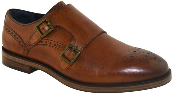 Cole Haan Men#x27;s Hamilton Grand Double Monk Brown Style C25451 $104.99