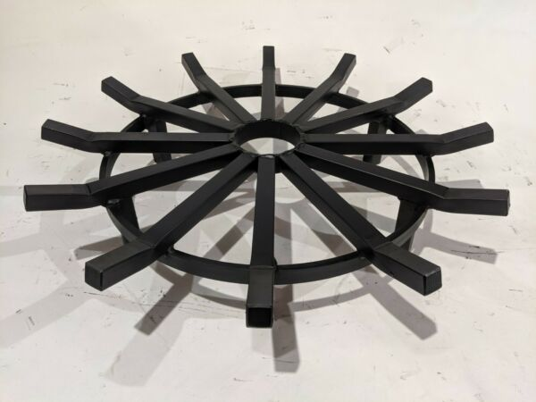 28 Inch Extreme Duty Wagon Wheel Fire Pit Grate Made in the USA