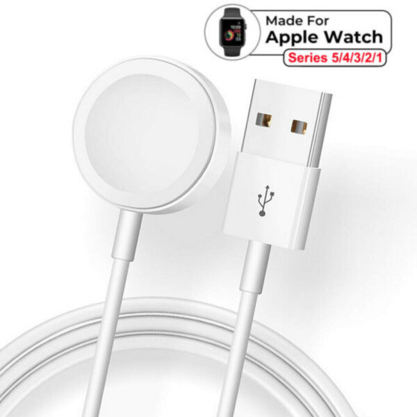 Magnetic Charger USB Cable Charging Dock For Apple Watch iWatch Series 54321