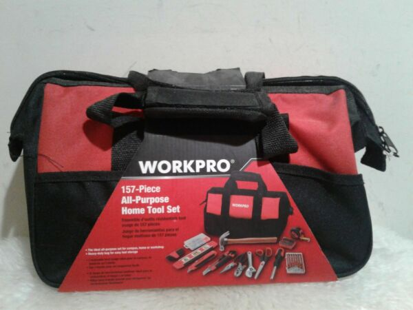 New WORKPRO 157-Piece Household Tool Set campushome or workshop