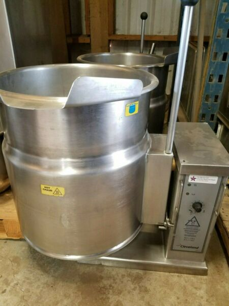 Cleveland KET12T 12 Gallon Electric Countertop Tilting Kettle