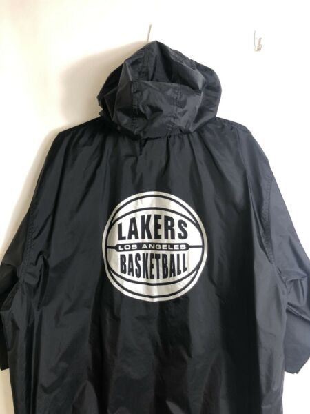 LOS ANGELES LA LAKERS Team Player Issue NIKE NBA Basketball Mens Workout Jacket