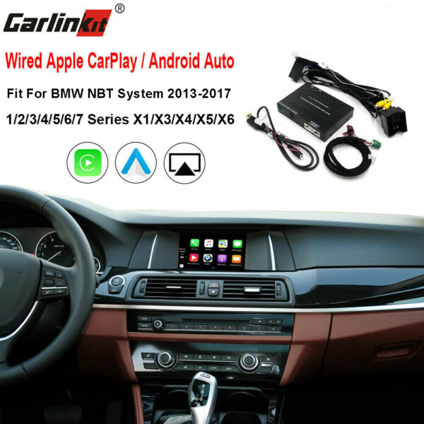Carlinkit Fit For BMW NBT Wired CarPlay + Android Auto + IOS Mirroring Upgrade