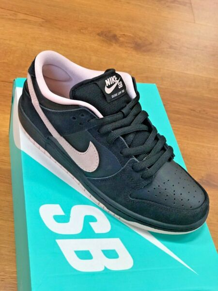 Nike SB Dunk Low Pro Black / Washed Coral BQ6817 003 Size 6.5 NEW DS NIB