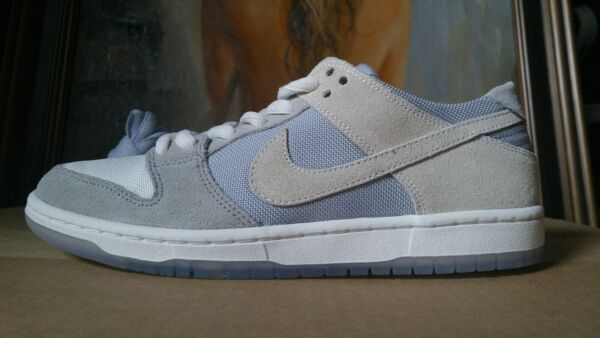 Nike SB Dunk Low Pro Zoom Size 9 Wolf Grey Summit White Pink 854866-011