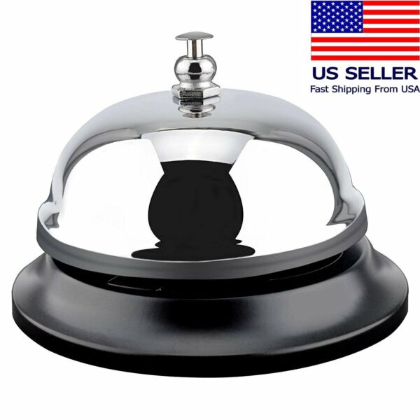 Customer Service Desk service Bell Counter Call Bells Large Bank Clinic Office $5.59