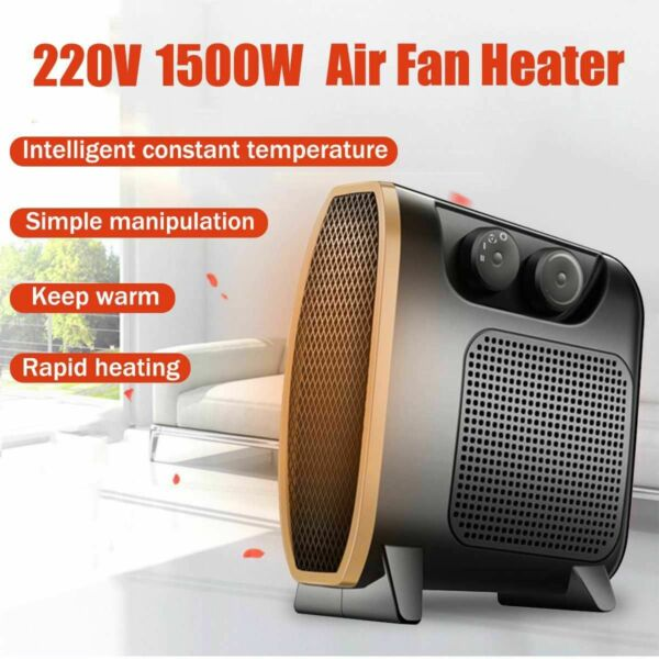 Portable Office Heater Mini Electric Heater Electric Home Heater Fan Handy Air $33.75