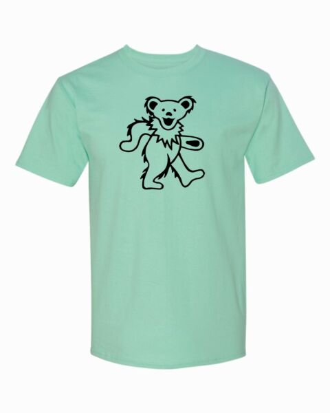 Grateful Dead Dancing Bear T Shirt. Must have for any fan $12.99