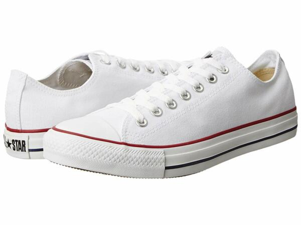 Converse Chuck Taylor LOW TOP Mens Womens Optical White M7652 Sneaker Shoes