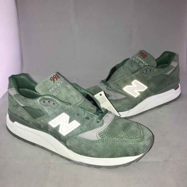 New Balance Shoes M998CSA MADE IN USA Sneakers Green size 11