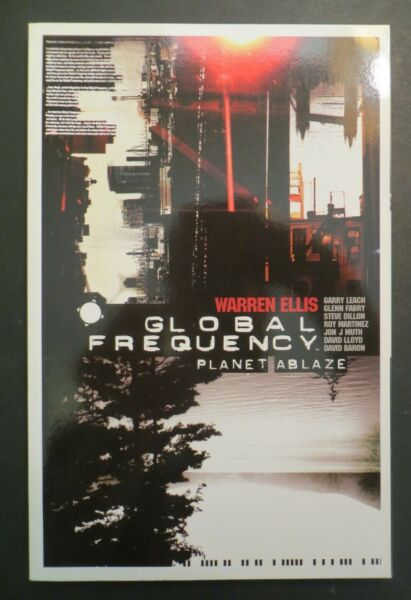 Global Frequency TPB Vol 1 Planet Ablaze Warren Ellis DC Comics Wildstorm