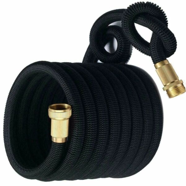 3X Stronger Deluxe Expandable Flexible Garden Water Hose (25ft50ft)